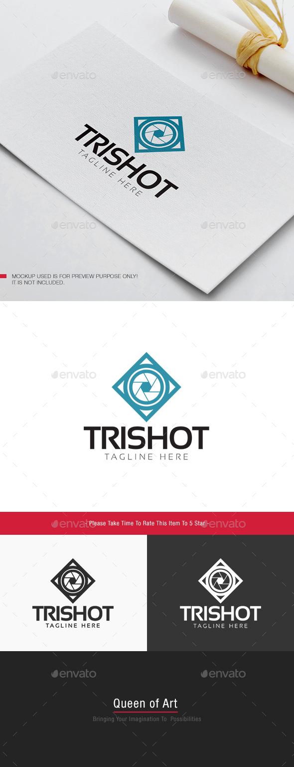 Tri Shot Logo - Objects Logo Templates