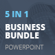 5 in 1 PowerPoint Business Bundle - GraphicRiver Item for Sale