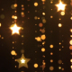 Christmas Golden Particles Star New Year - VideoHive Item for Sale