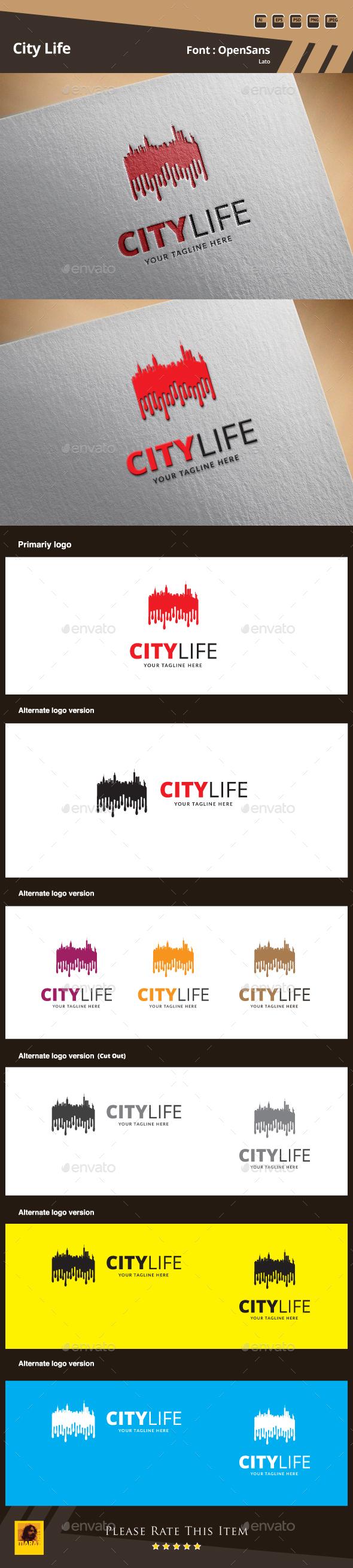 City Life Logo - Symbols Logo Templates