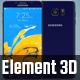 Note 5 Element 3D Model - 3DOcean Item for Sale