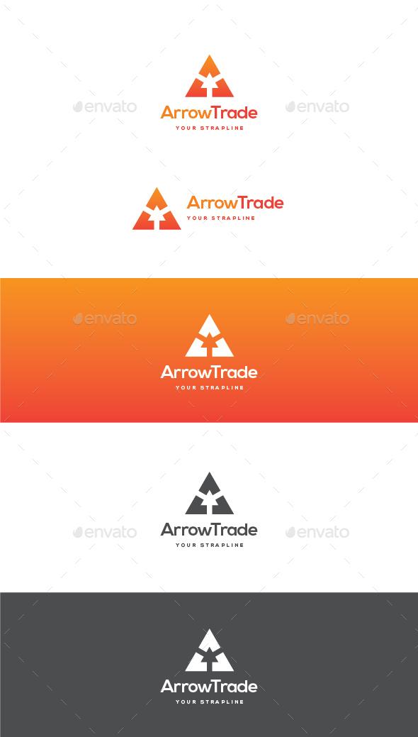 Arrow Trade Logo - Letters Logo Templates