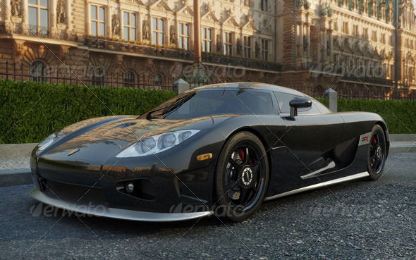 Koenigsegg CCX - 3DOcean Item for Sale