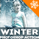 Winter is Coming Photoshop Snowing Effect Action - GraphicRiver Item for Sale
