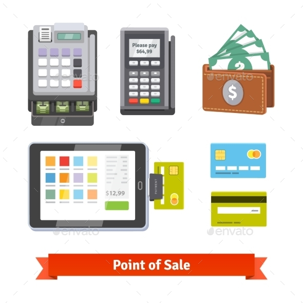 Set of Payment Icons - Concepts Business