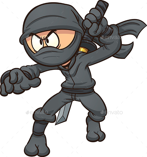 Cartoon Ninja - People Characters