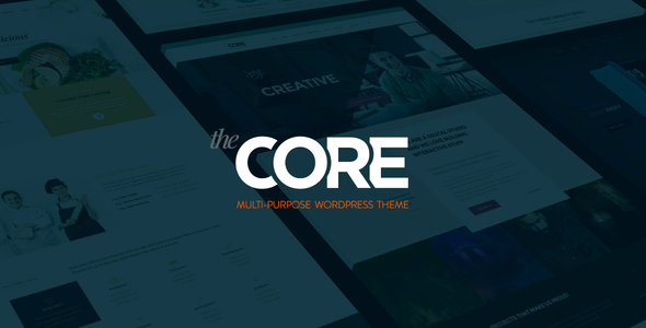 The Core – Multi-Purpose WordPress Theme