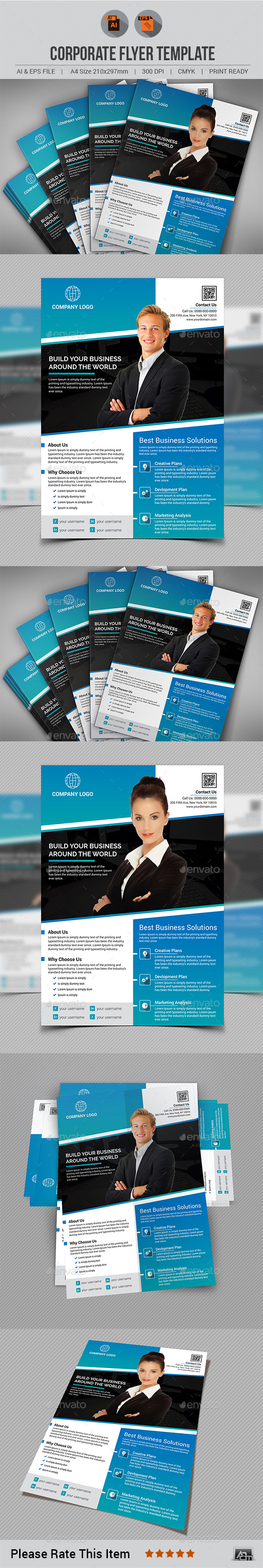 Corporate Flyer Template V5 - Corporate Flyers