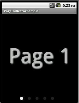 Page Indicator for ViewPager