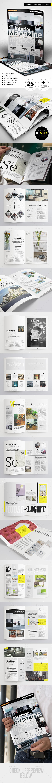 Interior Magazine - Magazines Print Templates
