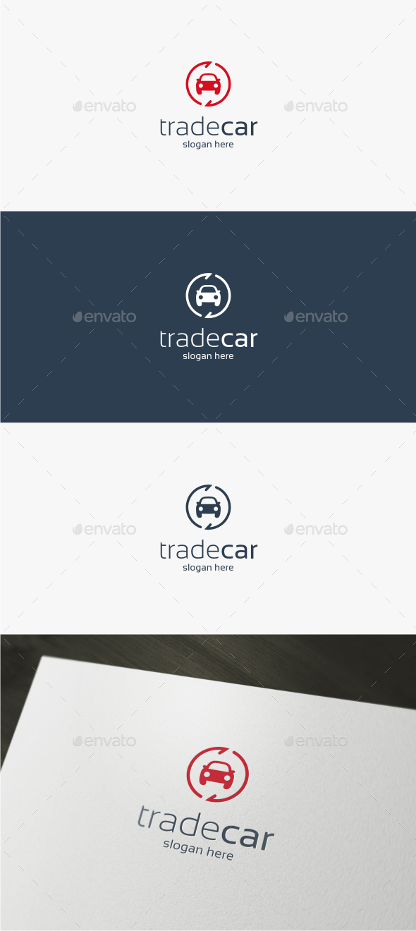 Trade Car - Logo Template - Objects Logo Templates