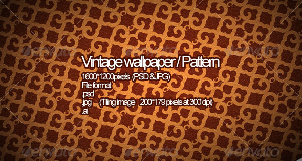 Vintage Wallpaper - Patterns Backgrounds