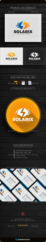Solarix - Letter S Logo - Letters Logo Templates
