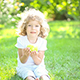 Happy Child Eating Apple - VideoHive Item for Sale