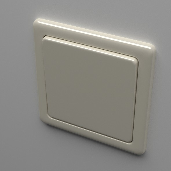 Light Switch - 3DOcean Item for Sale