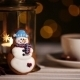 Snowman Christmas Cookie - VideoHive Item for Sale
