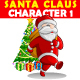 Santa Claus Character Vector 1 - GraphicRiver Item for Sale