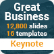 Great Business Multipurpose Keynote Presentation Template - GraphicRiver Item for Sale