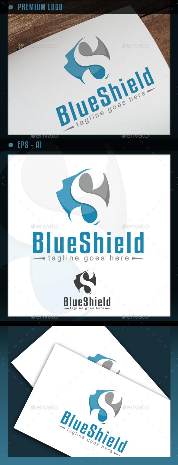 BlueShield - Letter S - Letters Logo Templates