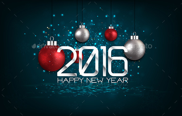 Happy New Year 2016 - New Year Seasons/Holidays