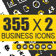 355x2  Modern Business icon - GraphicRiver Item for Sale