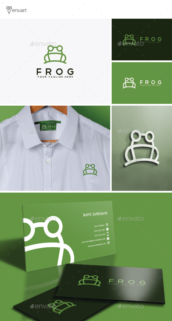 Frog Logo - Animals Logo Templates