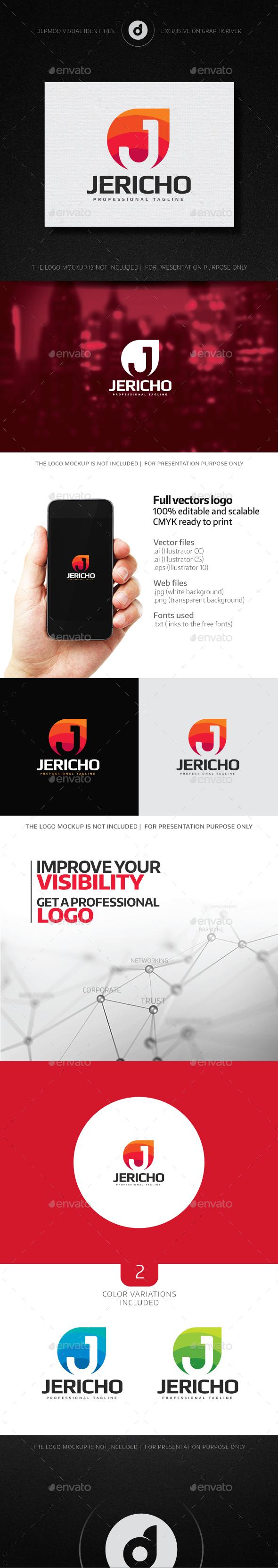 Jericho Logo - Letters Logo Templates