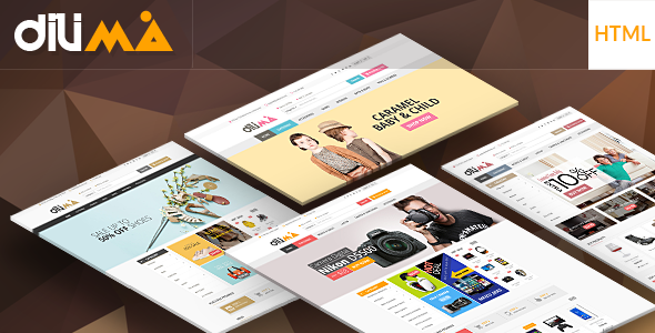 Dilima - Mega Store Responsive HTML Template - Shopping Retail