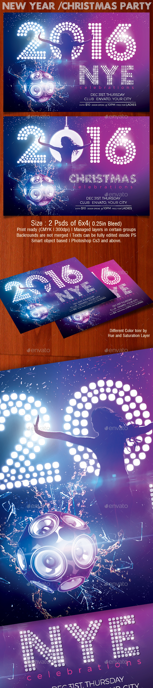 New Year Party - Holidays Events