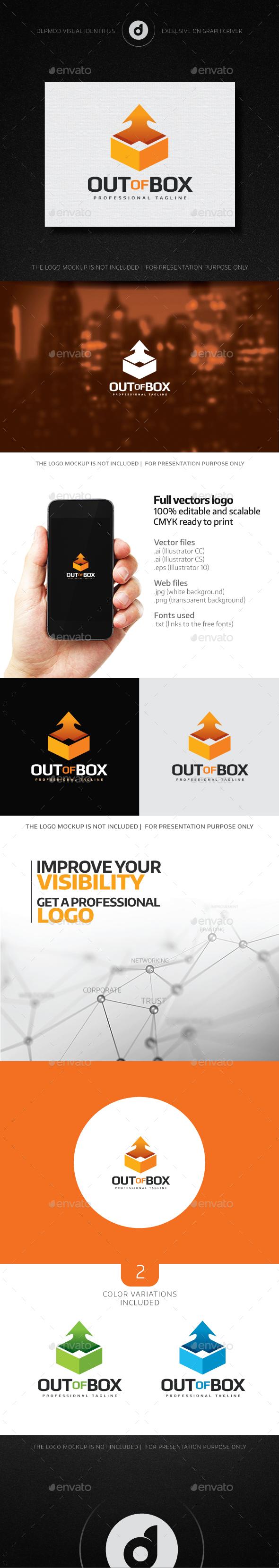Out Of Box Logo - Symbols Logo Templates