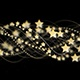 3 Gold Stars and Fibers - VideoHive Item for Sale