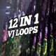 Urban Noise Vj Loops Pack - VideoHive Item for Sale