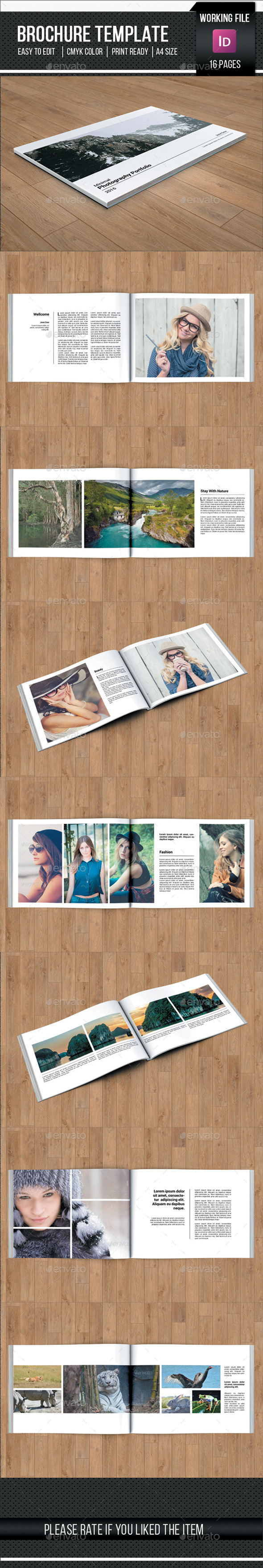Photography Catalog Template-V185 - Catalogs Brochures