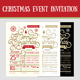 Christmas Event Invitation - GraphicRiver Item for Sale