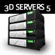 3D Servers - Pack 5 - Hosting Solution - GraphicRiver Item for Sale