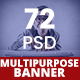 Bundle Multipurpose Banners Ad - GraphicRiver Item for Sale