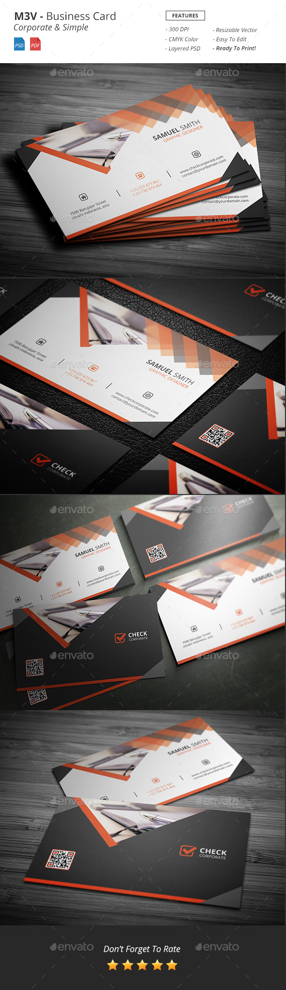 M3V - Business Card - Creative Business Cards