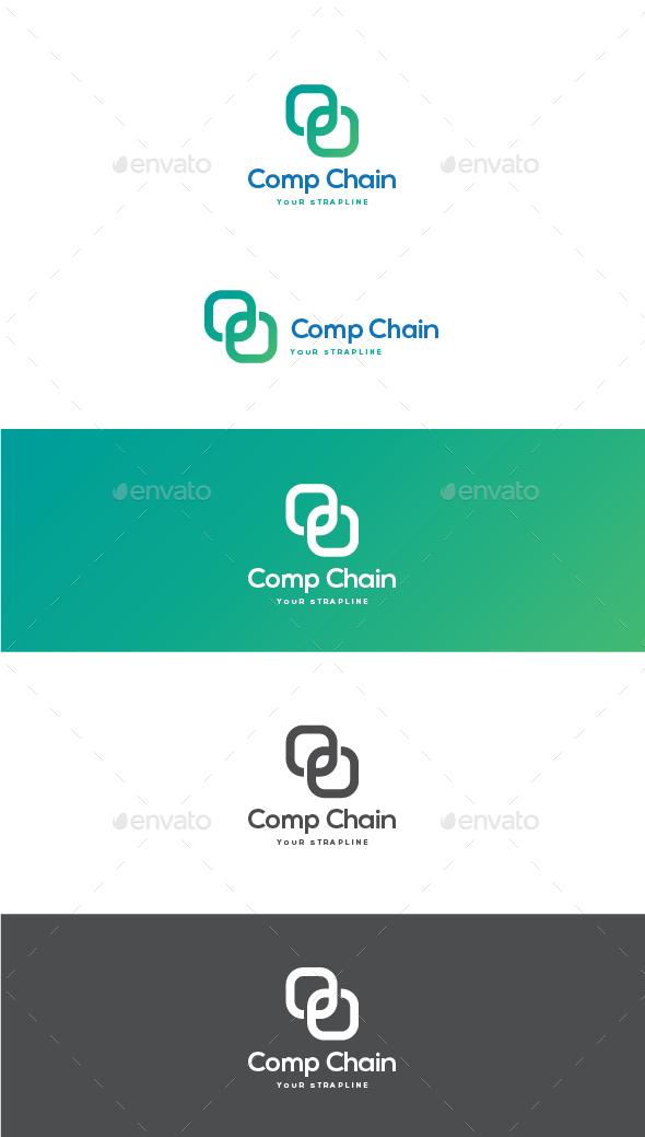 Comp Chain Logo - Symbols Logo Templates
