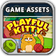 Playful Kitty Game Assets