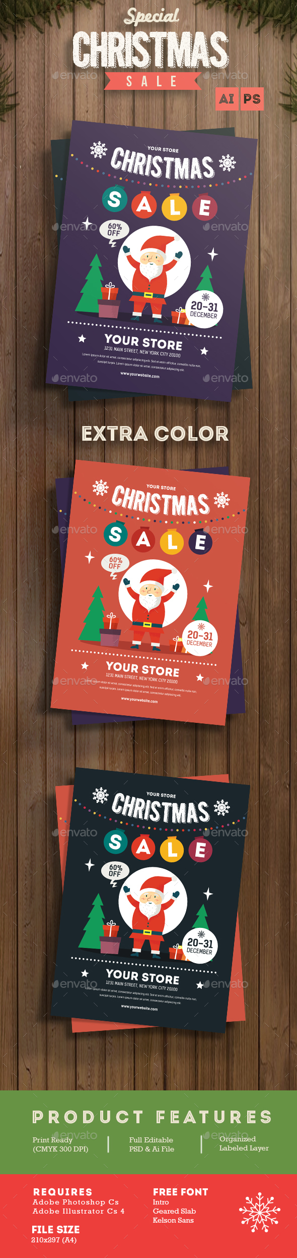 Christmas Sale - Events Flyers