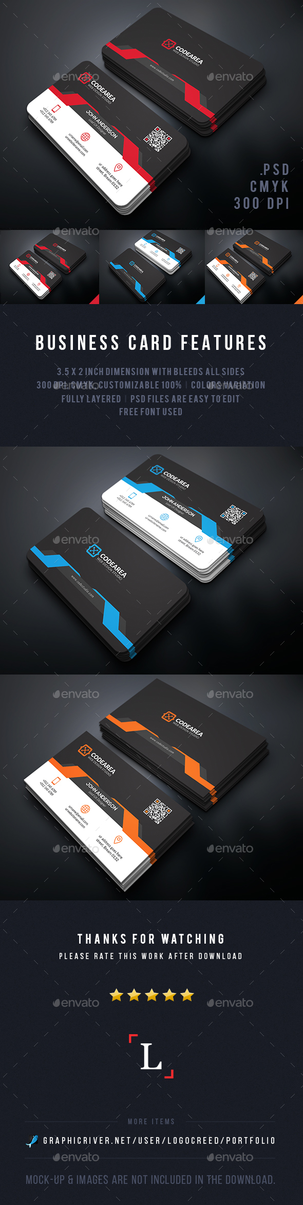 Strategic Business Cards - Business Cards Print Templates