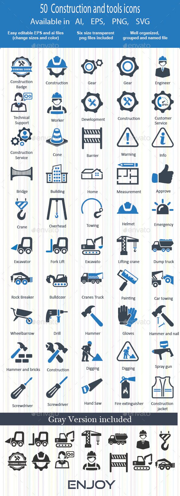 Construction and tools Icons - Business Icons