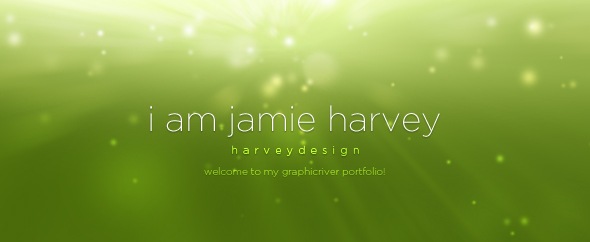 Harveydesign graphicriver portfolio