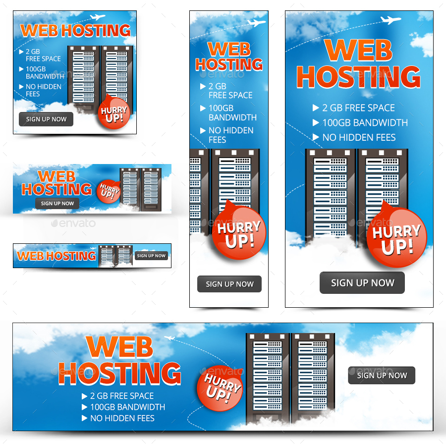 Free web hosting no banner - Red 896 Web Hosting Banners_preview Image Set Red 896 Web Hosting Banners_preview1 Jpg