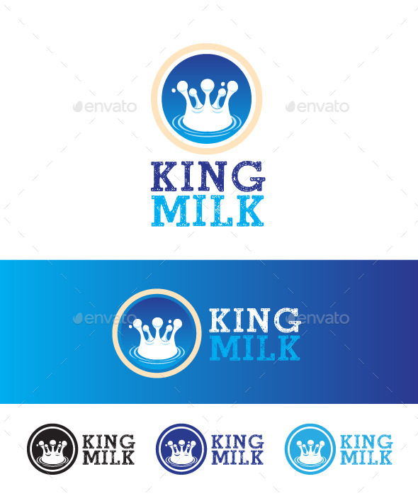Milk King - Vector Abstract
