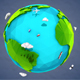 Lowpoly Earth - 3DOcean Item for Sale
