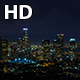 Downtown Los Angeles Night Thunderstorm - VideoHive Item for Sale
