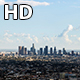 Downtown Los Angeles and Clouds Shadow - VideoHive Item for Sale
