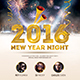 New Year 2016 Flyer Template - GraphicRiver Item for Sale