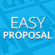 Easy Proposal Template - GraphicRiver Item for Sale